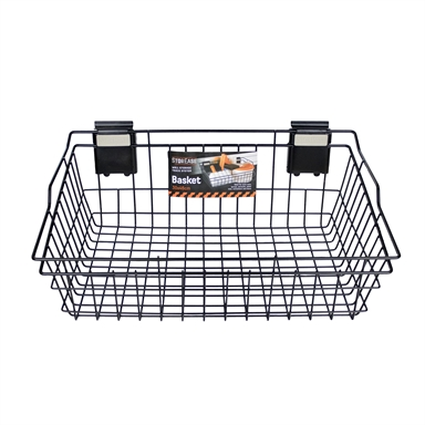 Storease 30cm X 46cm Garage Wall Storage Basket Bunnings Warehouse