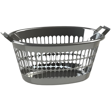 Homeleisure 35l Oval Trend Laundry Basket Bunnings Warehouse