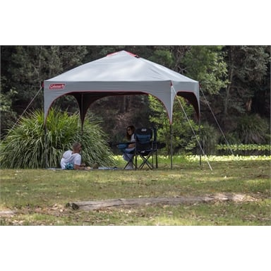 New Coleman 3 X 3m Deluxe Gazebo Heavy Duty Frame /& Canopy With Bag
