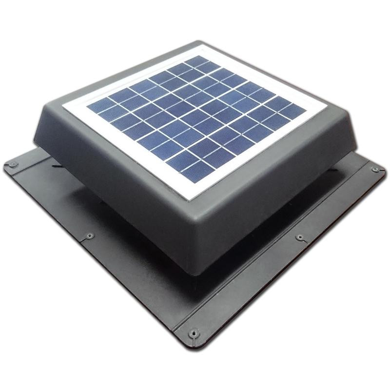 Ezylite 200mm Solar Roof Vent Fan Bunnings Warehouse