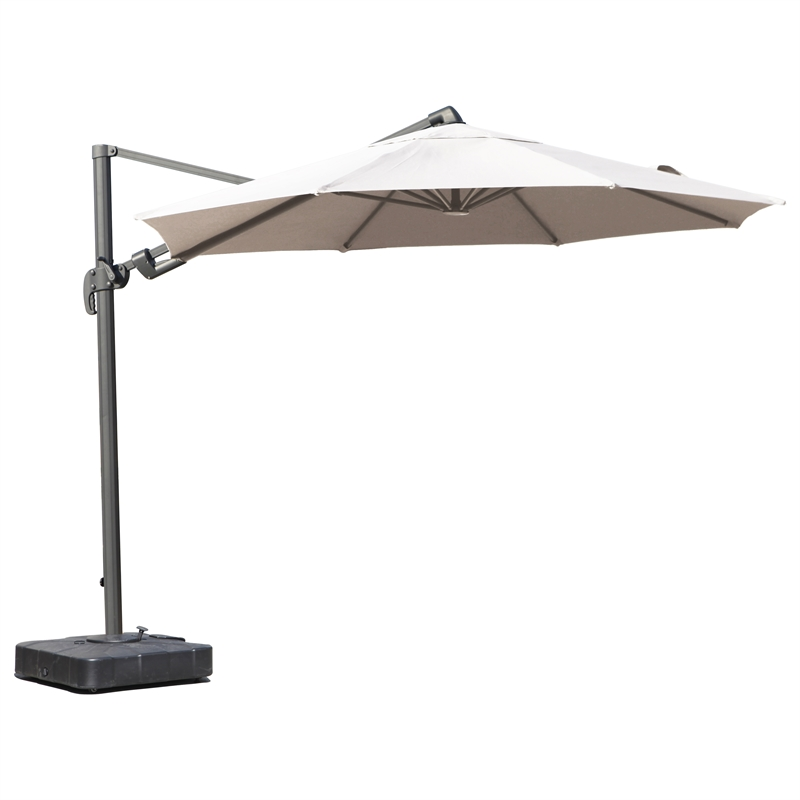 3.5m Andaman Cantilever Sand Umbrella