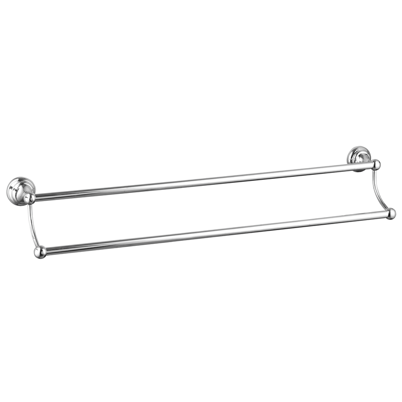 Maestro 60cm Double Towel Bar
