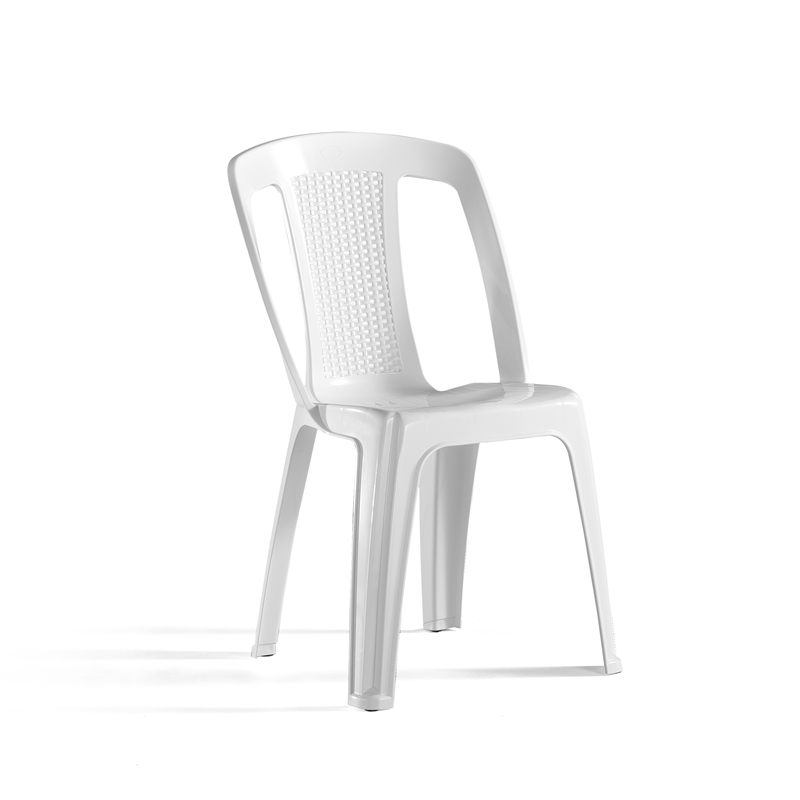 Tremendous Marquee White Elba Resin Bistro Chair Bunnings Warehouse Theyellowbook Wood Chair Design Ideas Theyellowbookinfo