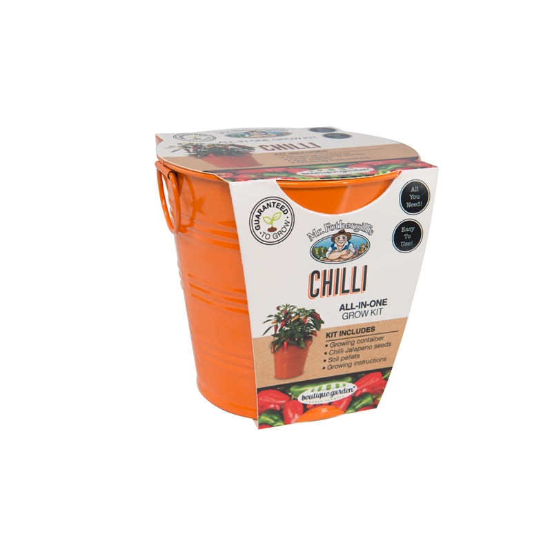 Mr Fothergill S Boutique Gardens Chilli Grow Kit Bunnings Warehouse