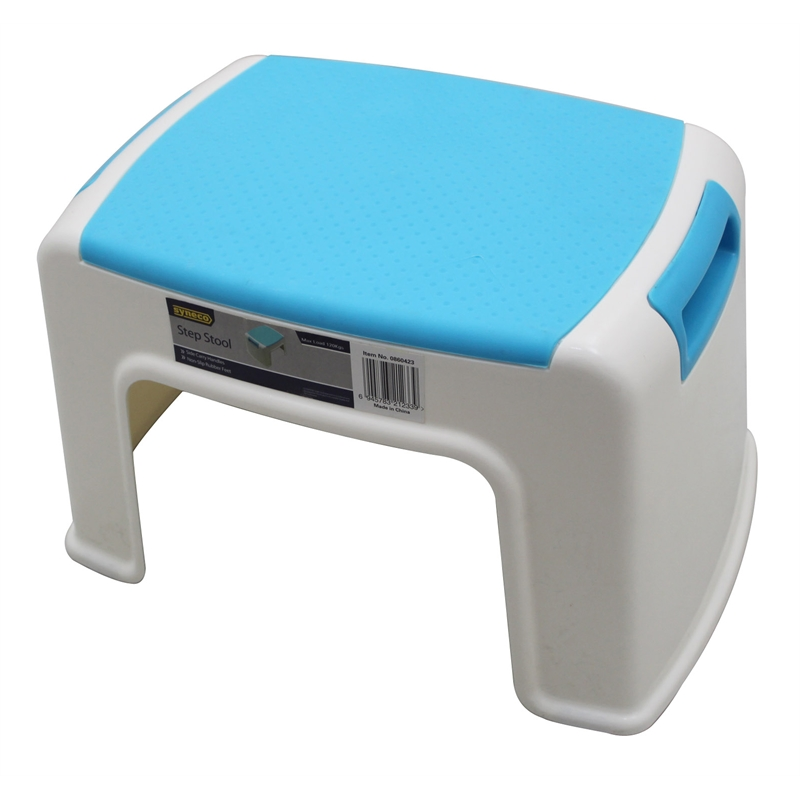 Superb Syneco Plastic 1 Step Stool Cjindustries Chair Design For Home Cjindustriesco