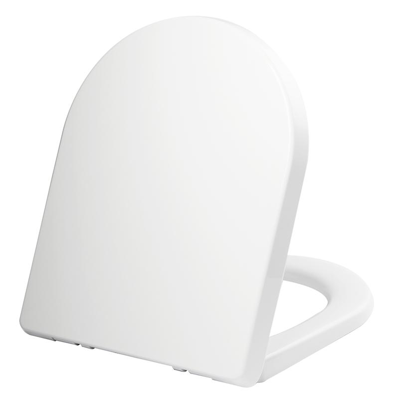 Rococo White Back To Wall Toilet Seat