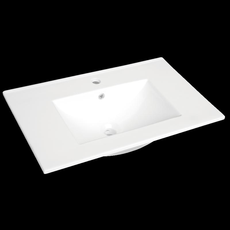 Cadenza 750mm Ceramic Basin Only 1TH