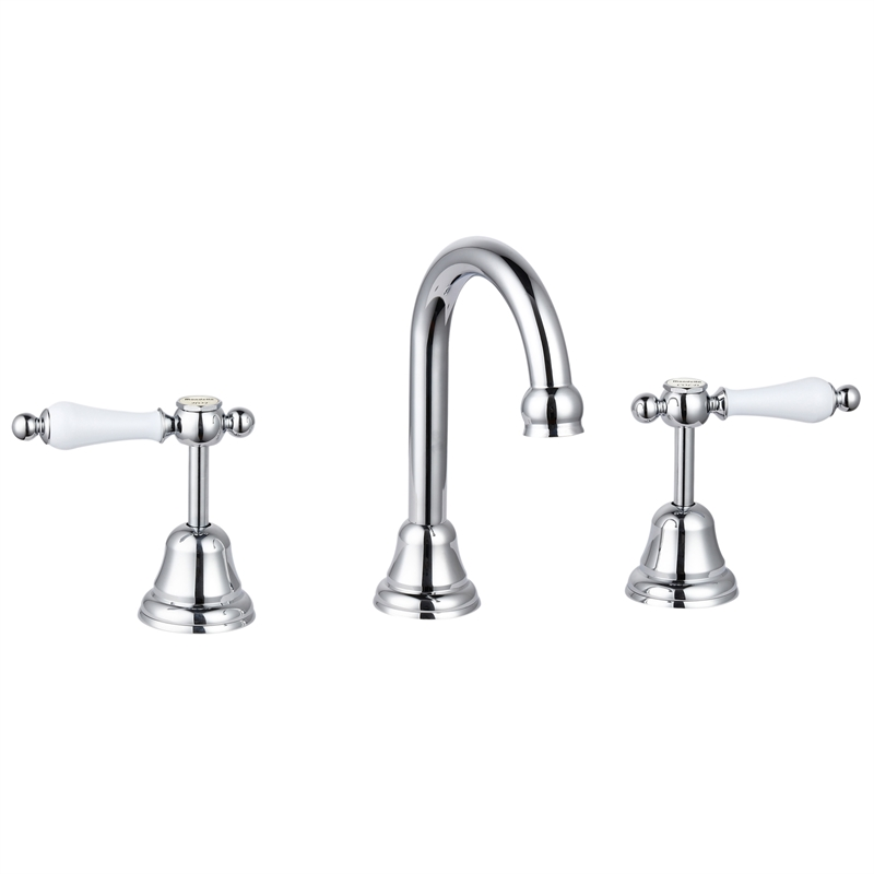 Maestro Chrome Lever Handle Basin Set