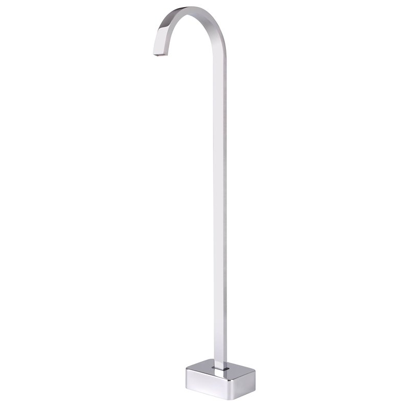 Mondella Chrome Concerto Floor Mounted Bath Spout
