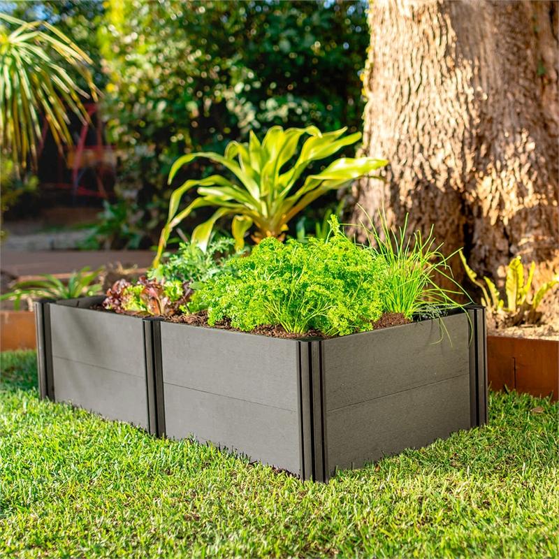 Holman 1200 X 600 X 300mm Modular Raised Garden Bed Bunnings Warehouse