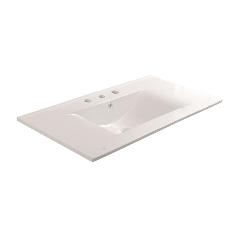 Rococo 900mm Ceramic Basin Only 3TH
