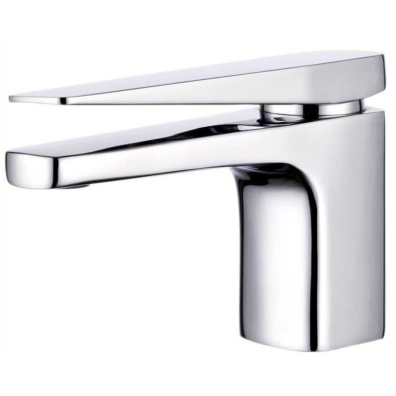 Rumba Chrome Basin Mixer