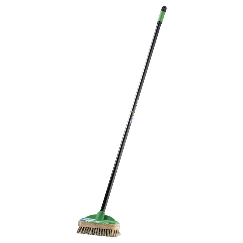 Oates Long Handle Deck Scrub Brush