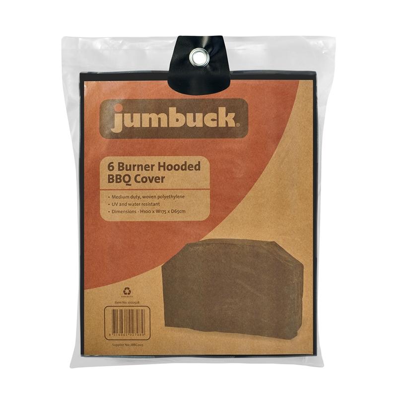 6 Burner Hooded Cover