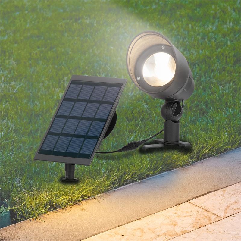 Arlec 100 Lumens Led Garden Spot Solar Light Bunnings Warehouse